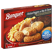 Banquet Chicken Nuggets And Mac And Chee