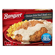 Banquet Country Fried Beef Patty Meal