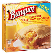Banquet Deep Dish Cheesy Ham and Potatoes Breakfast Pot Pie
