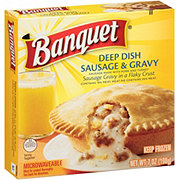 Banquet Deep Dish Sausage and Gravy