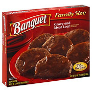 Banquet Gravy and Meatloaf, Family Size