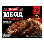 Banquet Mega Meals Salisbury Steak