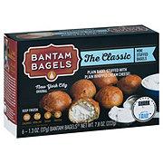 Bantam Bagels The Classic Plain Stuffed Bagel