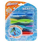 Banzai Assorted Torpedo Beasts Dive Toys