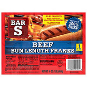 Bar S Bun Length Beef Franks