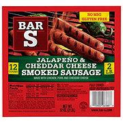 Bar S Cheddar & Jalapeno Skinless Sausage