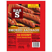Bar S Cheese Skinless Smoked Sausage Links