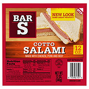 Bar S Cotto Salami