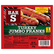 Bar S Jumbo Turkey Franks