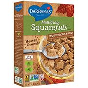 Barbara's Maple Brown Sugar Multigrain Squarefuls Cereal