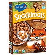 Barbara's Organic Chocolate Crisp Snackimals Cereal