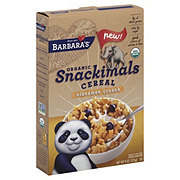 Barbara's Organic Snackimals Cinnamon Crunch Cereal