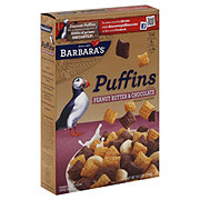 Barbara's Peanut Butter and Chocolate Puffins Cereal