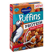 Barbara's Puffins Protein Berry Burst Cereal