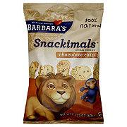 Barbara's Snackimals Chocolate Chip Animal Cookies
