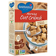 Barbara's Vanilla Almond Morning Oat Crunch Cereal