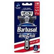 Barbasol Ultra 6 Plus Disposable Razor