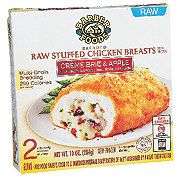 Barber Foods Creme Brie and Apple Breaded Raw Stuffed Chicken Breasts