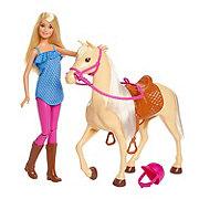 Barbie Doll & Horse Set