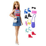 Barbie Doll & Shoes Gift Set Assortment