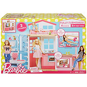 Barbie Furnished Two Story House