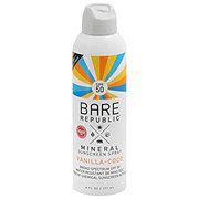 Bare Republic SPF 50 Vanilla Coconut Spray