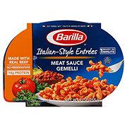 Barilla Italian Entrees Meat Sauce Gemelli