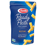 Barilla Ready Pasta Fully Cooked Rotini