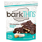 BarkThins Dark Chocolate Coconut with Almonds Snacking Chocolate
