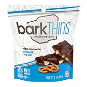 BarkThins Snacking Dark Chocolate Pretzel Sea Salt