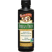 Barlean's Organic Oils Lignan Omega Twin Organic Flax & Borage Oil