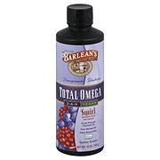 Barlean's Organic Oils Pomegranate Blueberry Total Omega 3-6-9 Vegan Swirl