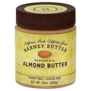 Barney Butter Honey Flax Almond Butter