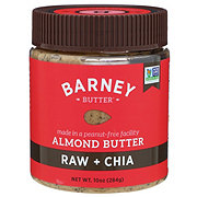 Barney Butter Raw + Chia Almond Butter