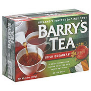 Barry's Tea Irish Breakfast Strength and Flavour Tea Bags