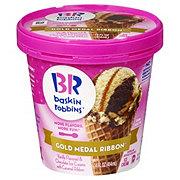Baskin Robbins Gold Metal Ribbon Ice Cream