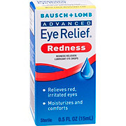 Bausch & Lomb Advanced Eye Relief Redness Instant Relief Lubricat Eye Drops