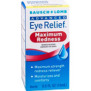 Bausch & Lomb Advanced Redness Eye Relief, Maxiumum Relief