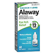 Bausch & Lomb Alaway Allergy Eye Itch Relief Drops