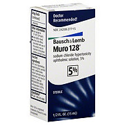 Bausch & Lomb Muro 128 5% Ophthalmic Solution