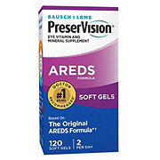 Bausch & Lomb PreserVision AREDS Formula Softgels