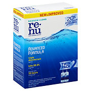 Bausch & Lomb renu Advanced Multi-Purpose Solution Twin Pack