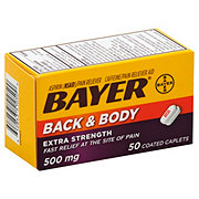 Bayer Back & Body Extra Strength Pain Reliever/Adjuvant Coated Caplets