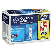 Bayer Contour Next Test Strip