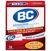 BC Sinus Congestion & Pain Relief Powder