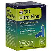 BD Ultra-Fine 33 Gauge Single-Use Lancets