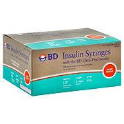 "BD Ultra-Fine II 1cc 5/16"" (8 mm) Short Needle 31 Gauge  Insulin Syringes"