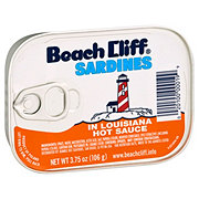 Beach Cliff Sardines In Louisiana Hot Sauce
