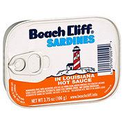 Beach Cliff Sardines in Louisiana Hot Sauce
