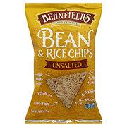 Beanfields Naturally Unsalted Bean & Rice Chips
